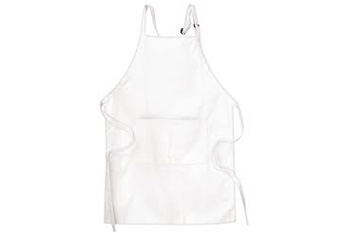 Cotton Aprons – White and Blue