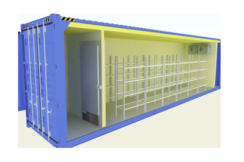 Refer Container Type Coldrooms ( Chiller / Freezer)
