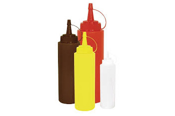 Squeeze Sauce Bottles and Dispensers