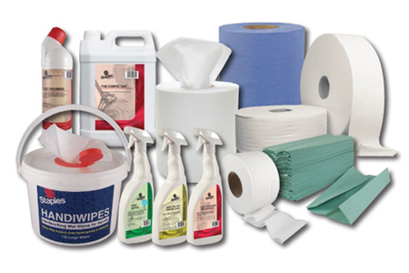 Washroom and Toilet Cleaning Supplies