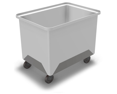 Industrial Laundry PVC trolley